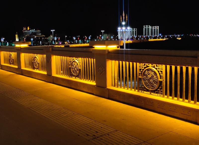 桥梁护栏灯照明工程